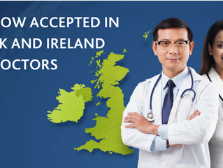 OET now accepted in the UK and Ireland for doctors