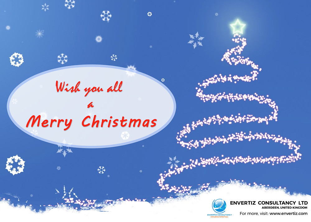 From all of us at Envertiz , we wish everyone a warm and bright festive season. We hope that you enjoy a day spent with friends and loved ones!