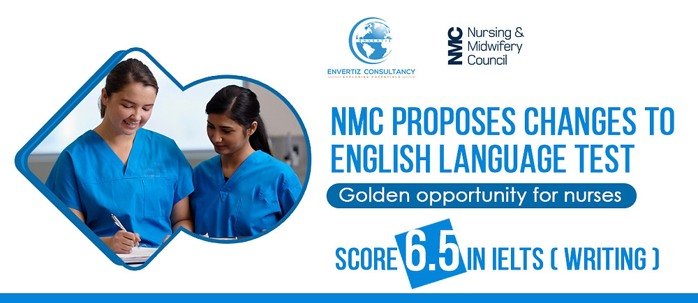 Nurses score 6.5 in writing IELTS