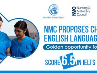 NMC proposes changes to English language test