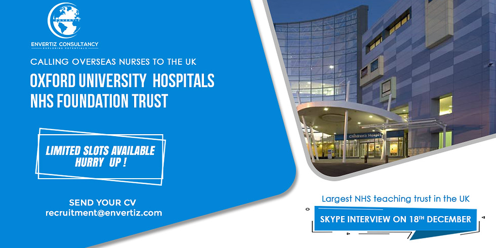 Direct Skype Interview with Oxford University Hospitals  (1)