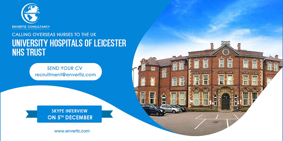 Direct Skype Interview with University Hospitals of Leicester