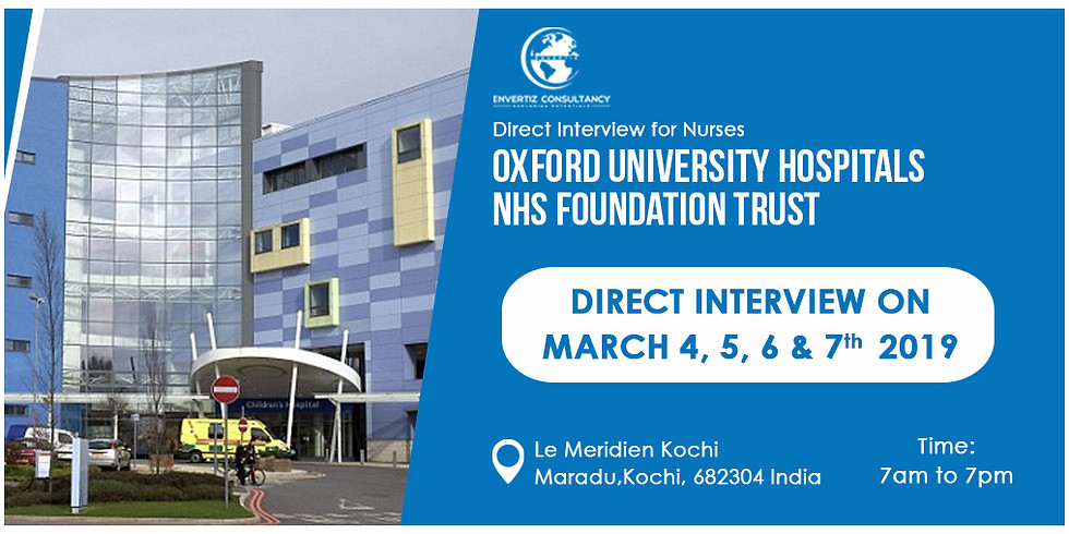 Direct Interview for Nurses - Oxford University Hospitals (1)