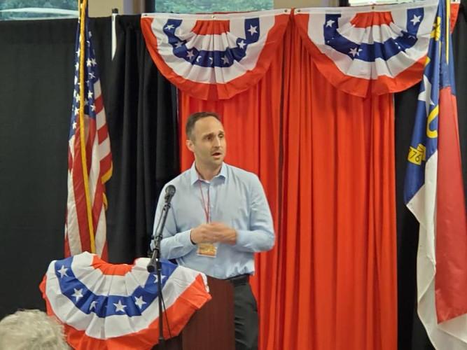 Josh Dobson on the campaign trail