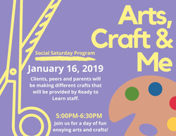 Pink and Yellow Craft Fair Event Flyer