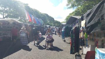 Hawaii Day 6: Swap Meet & Pearl Harbor