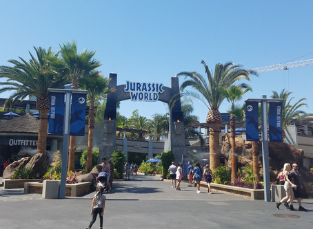 Universal Studios Hollywood's New Jurassic World Ride