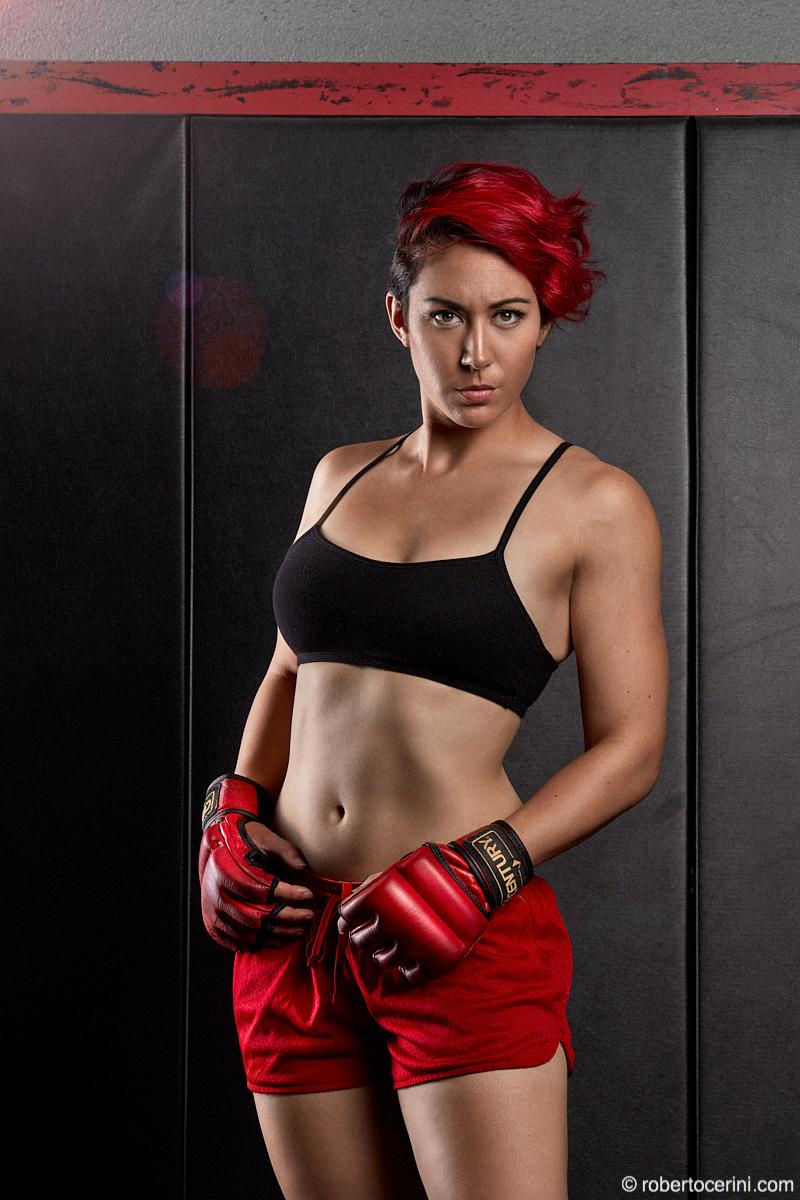 Fitness Model Boxing