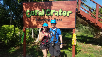 Hawaii Day 7: Coral Crater Adventure Park & Germaine's Luau