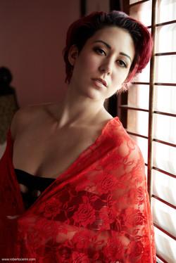 window red portrait