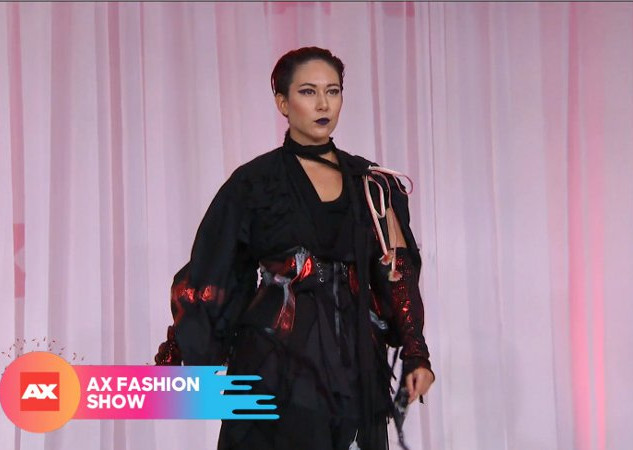 Anime Expo Runway h.naoto fashion show model