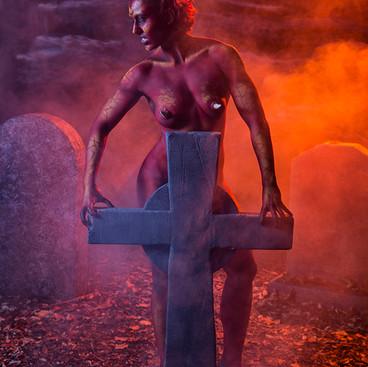 Bodypaint Model Devil