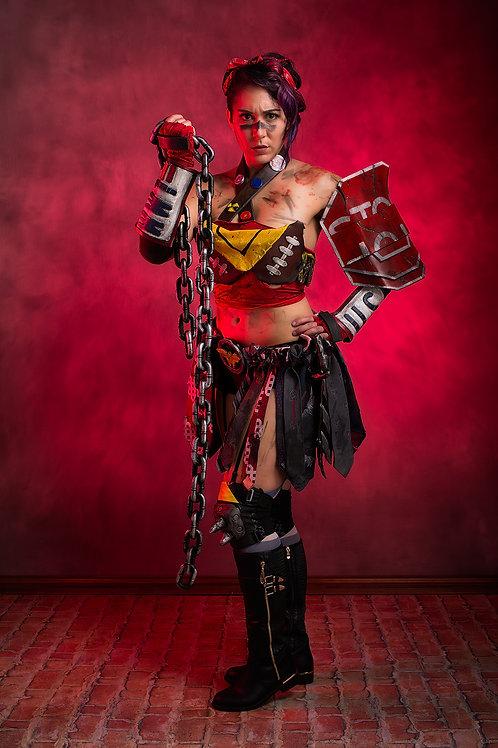Atomic Wonder Woman Fierce