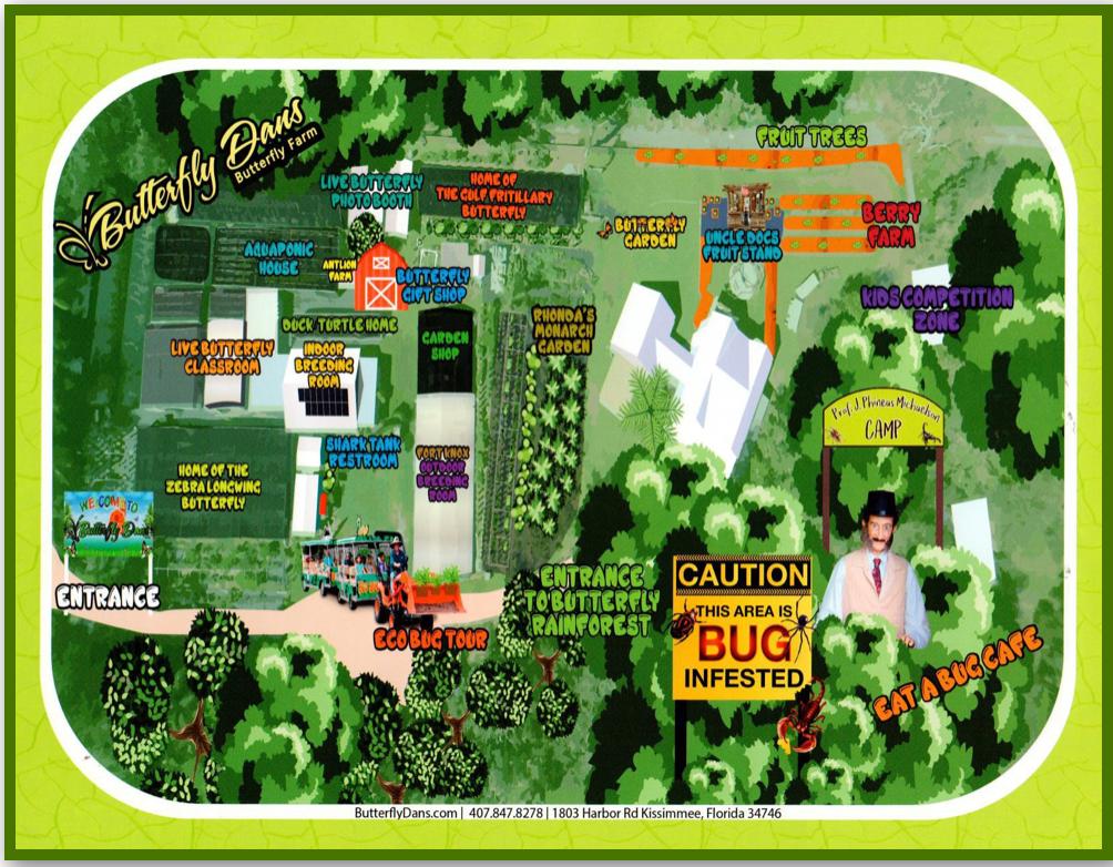 Tour Dan's Butterfly Farm