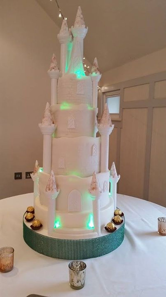 Fantasy Castle Wedding Cake