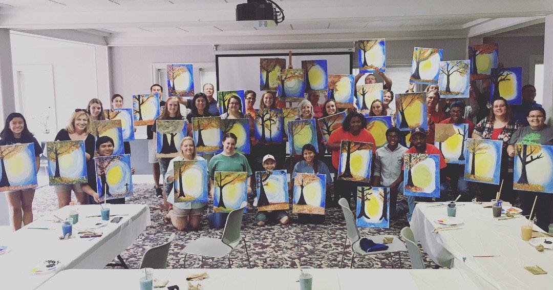 Fundraising Painting Night