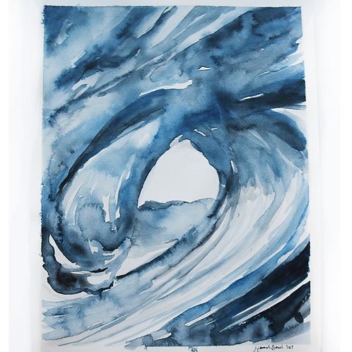 11x15 Acrylic on Paper
