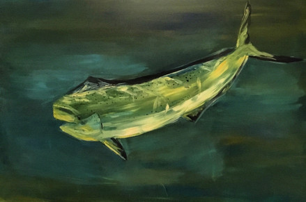Custom Fish Painting