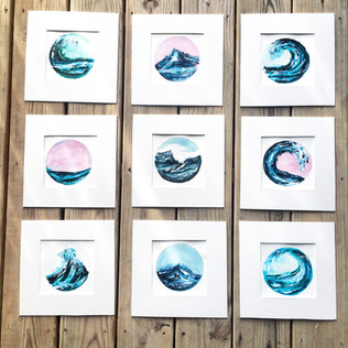 Custom Acrylic Seascapes