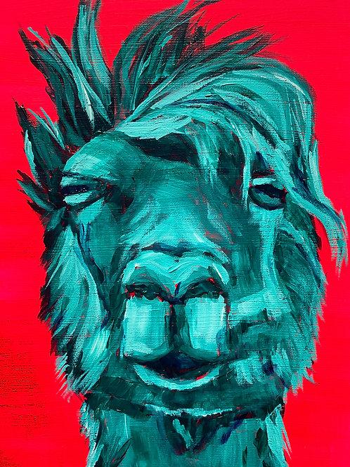 PRINT Sassy Llama