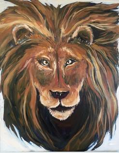 Custom Acrylic Lion Head