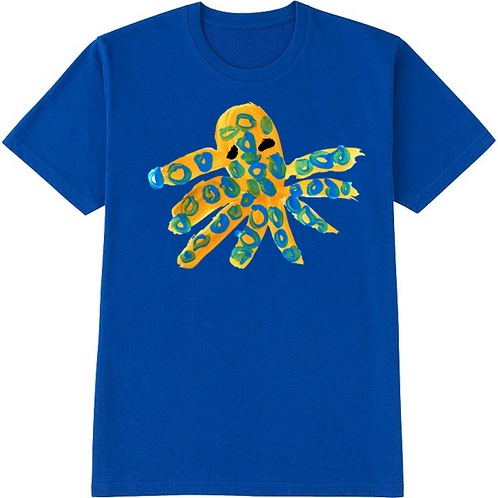 Octopus Blue T-Shirt