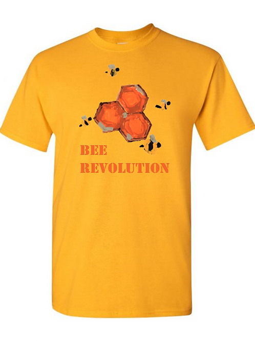 Bee Revolution Yellow Tshirt