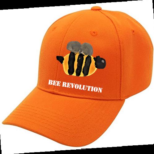 Bee Revolution Orange Cap