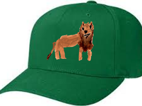 Lion Green Cap