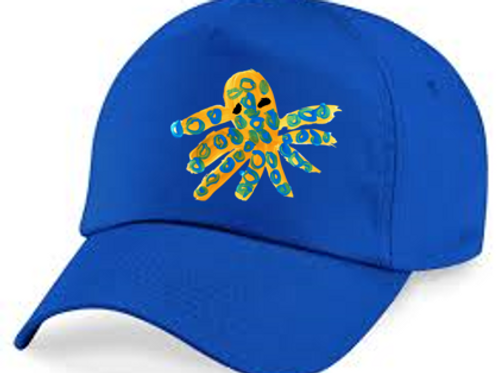 Octopus Blue Cap