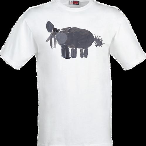 Elephant White T-Shirt
