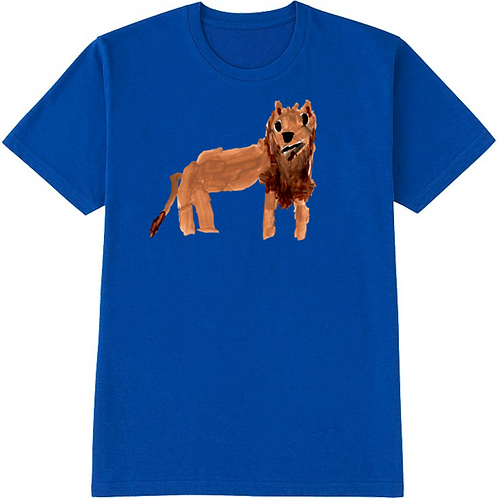 Lion Blue T-Shirt