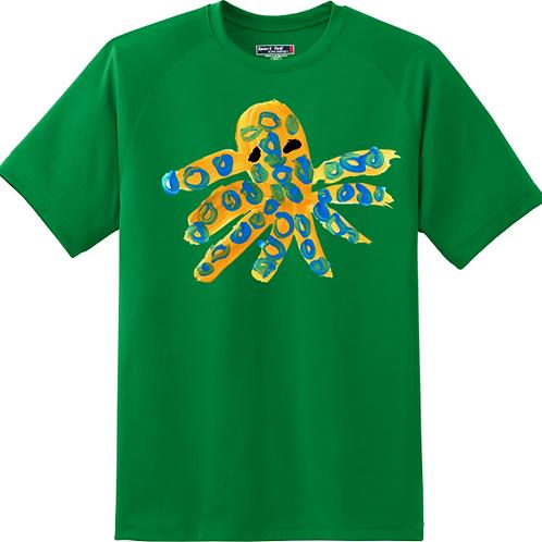 Octopus Green T-Shirt