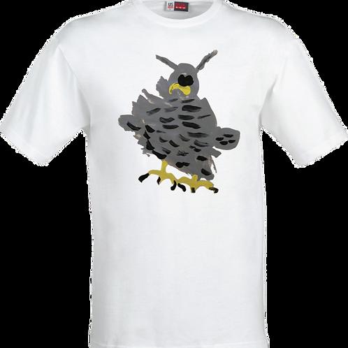 Owl White T-Shirt
