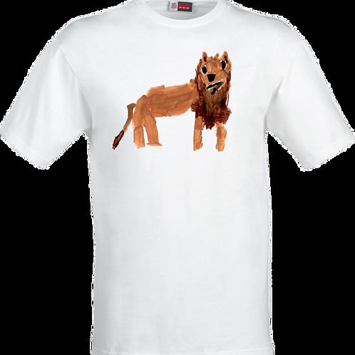Lion White T-Shirt