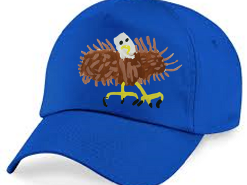 Bald Eagle Blue Cap