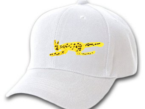 Cheetah White Cap