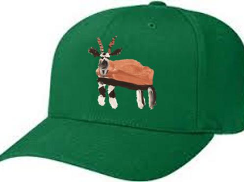 Gazelle Green Cap