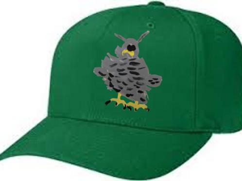Owl Green Cap