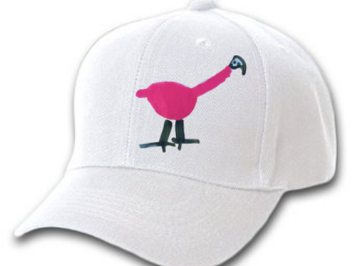 Flamingo White Cap