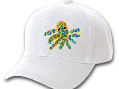 Octopus White Cap