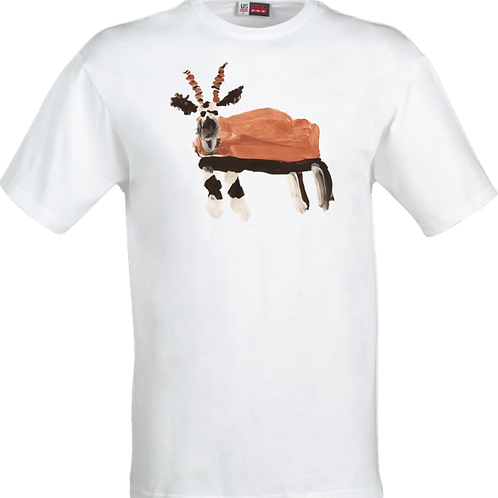 Gazelle White T-Shirt