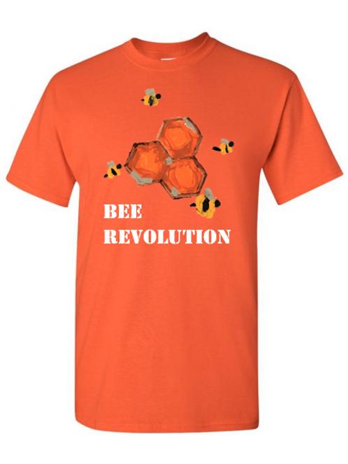 Bee Revolution Orange Tshirt