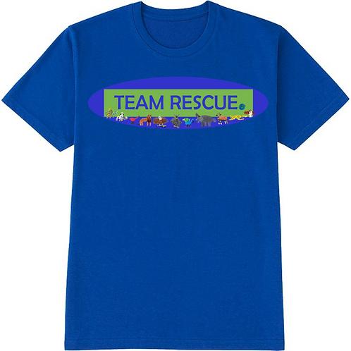 Team Rescue Blue T-Shirt