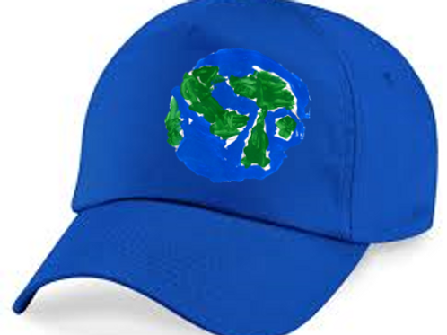 Earth Blue Hat
