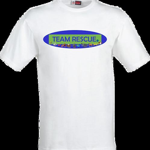 Team Rescue White T-Shirt