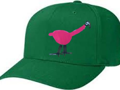 Flamingo Green Cap