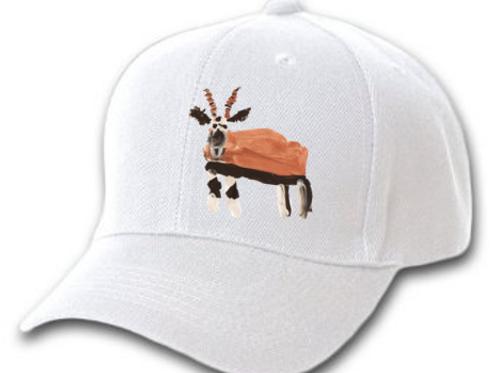 Gazelle White Cap