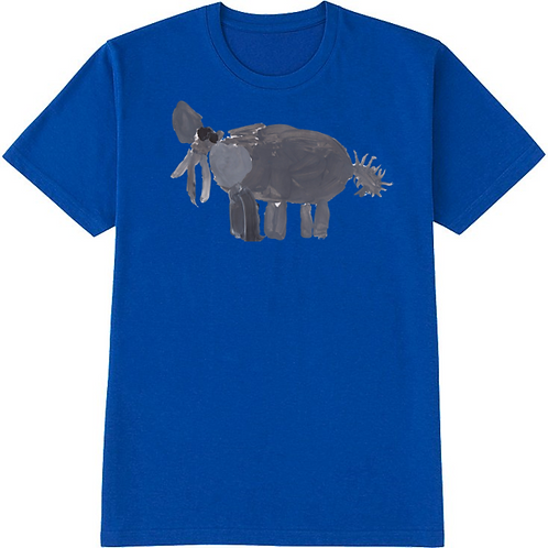 Elephant Blue T-Shirt