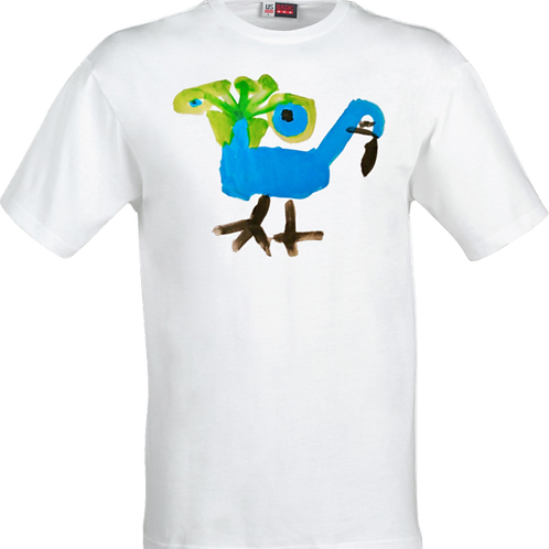 Peacock White Shirt